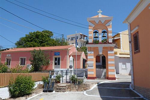 Agios Ioannis kerk in Afionas
