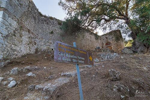 Gardiki fort op Corfu