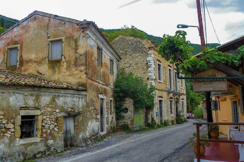 Agios Markos op Corfu | Griekenland - Sibel Zeyneb Diker