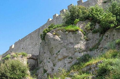Angelokastro kasteel op Corfu