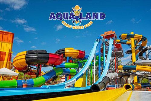 Aqualand water park Corfu