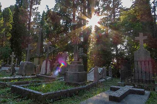 Britse begraafplaats op Corfu