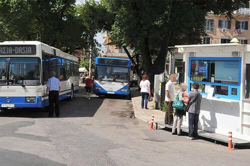 Busvervoer op Corfu