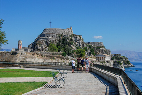 Corfu stad in Corfu | Griekenland