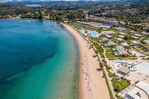 Dassia op Corfu