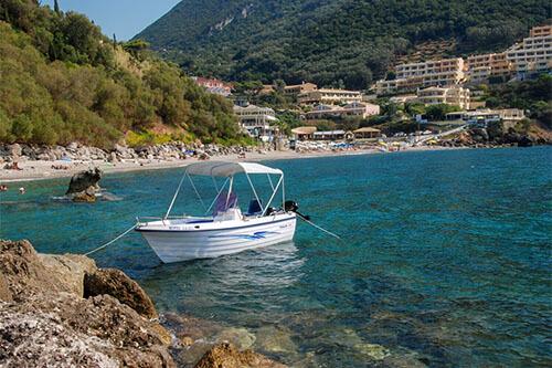 Ermones op Corfu