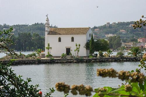 Ipapanti kerk op Corfu