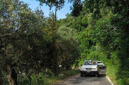 Jeepsafari op Corfu