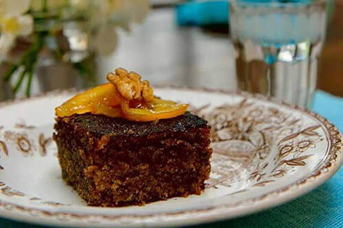 Karidopita cake