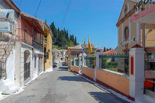 Karousádes op Corfu | Griekenland
