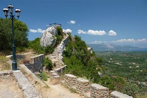Keizerstroon in Pelekas - Corfu