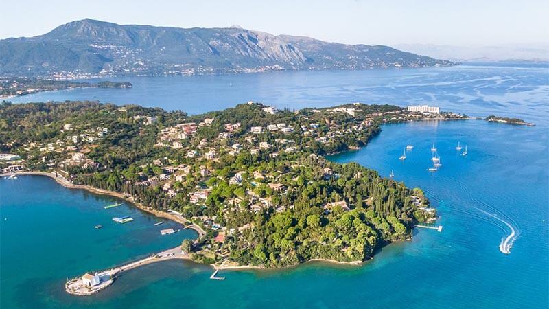 Kommeno op Corfu   Griekenland – Eddie Kastamonitis