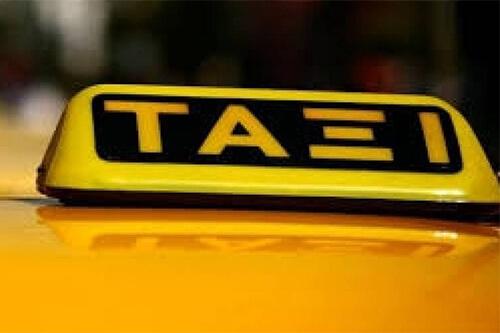 Taxi op Corfu