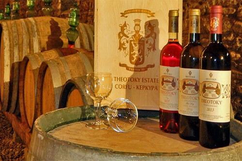 Theotoky wijnmakerij Corfu