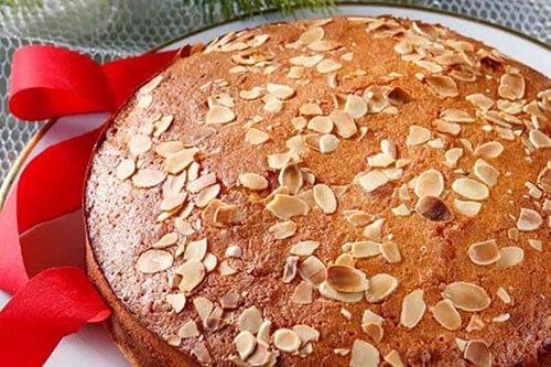 Vasilopita cake recept
